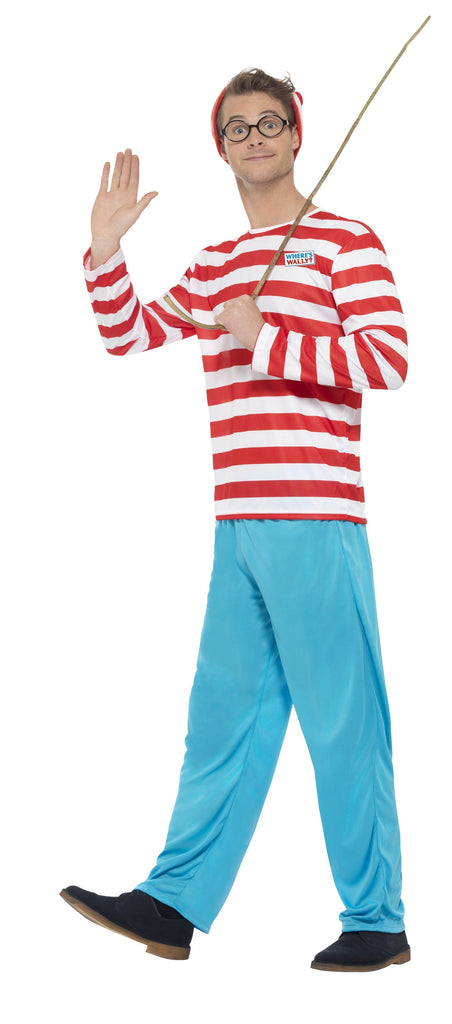 Where's Wally Costume - Adult