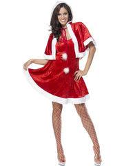 Miss Secret Santa Fever Costume