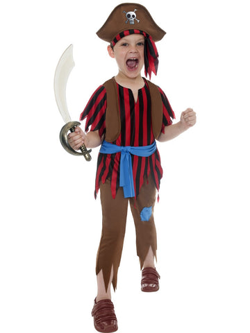 Pirate Boy Costume - Childs