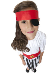 Pirate Girl Costume - Childs