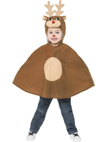 Reindeer Poncho Costume - Childs