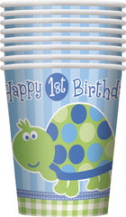 First Birthday Turtle - Cups