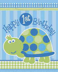 First Birthday Turtle - Lootbags