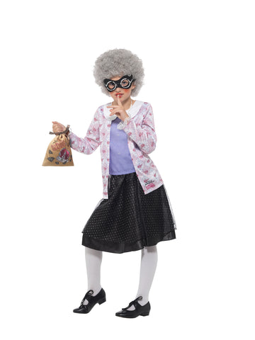 David Walliams Gangsta Granny Costume - Childs