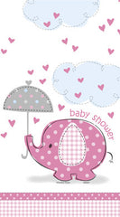 Baby Shower - Umbrellaphants - Tablecover