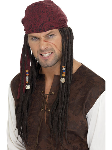 Pirate Wig & Scarf