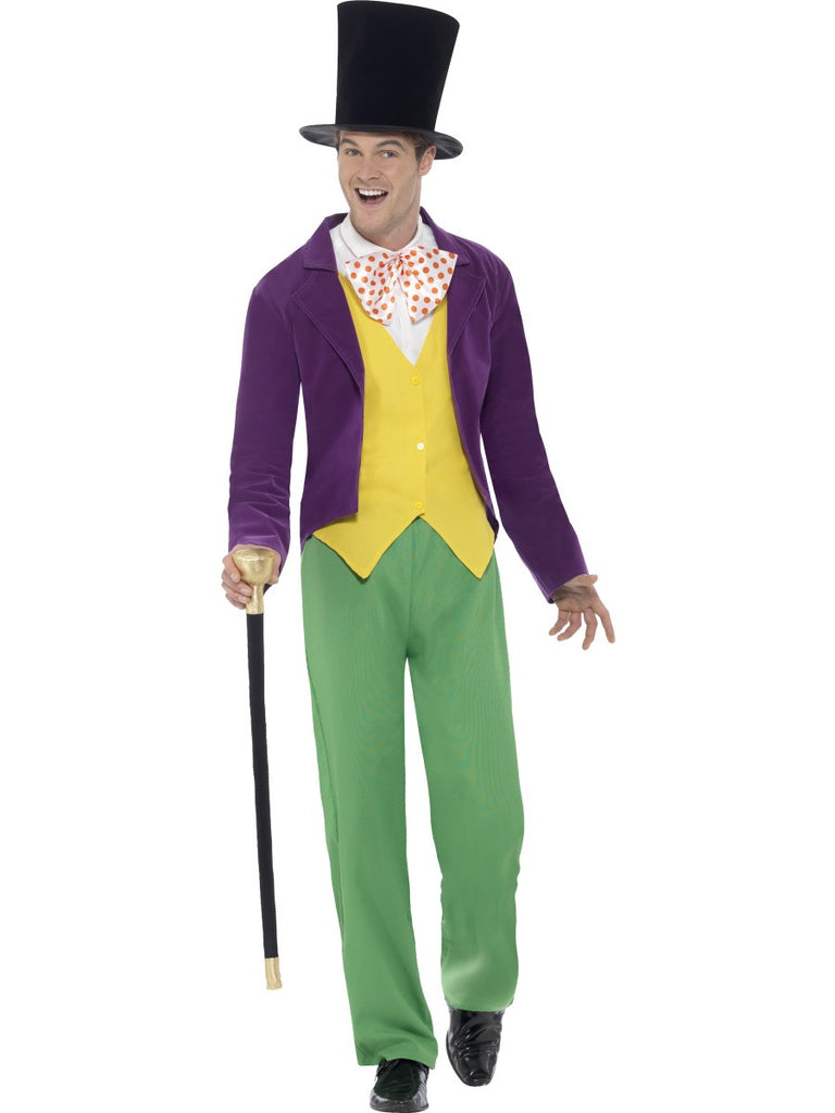 Roald Dahl Willy Wonka Costume - Adult