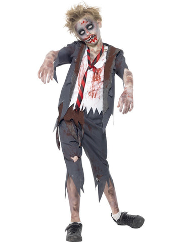Zombie Schoolboy Costume - Childs