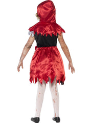 Zombie Miss Hood Costume - Childs