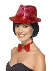 Trilby Hat - Sequin