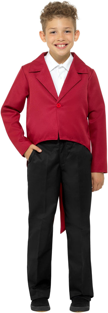Tailcoat - Red - Childs