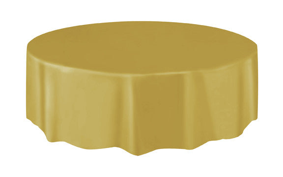 Tablecover - Plastic - Round