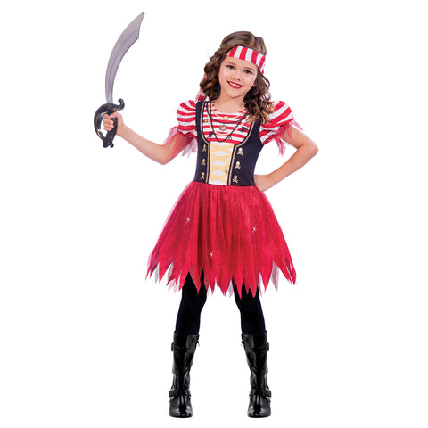 Pirate Girl Costume - High Seas - Childs