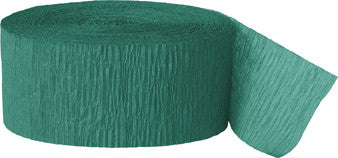 Crepe Streamer - Emerald Green