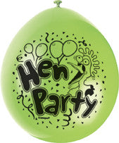 Latex Balloons - Hen Party (Airfill)