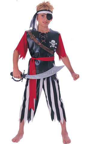 Pirate King Costume - Childs