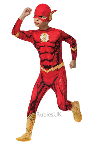 The Flash Costume - Licensed - Childs