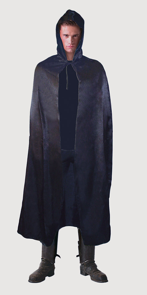 Cape - Hooded - Black - Unisex