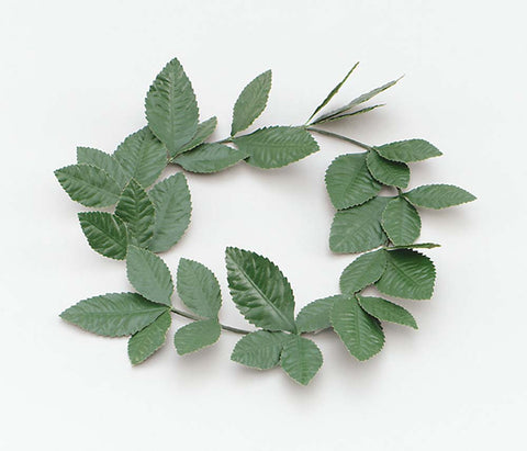Roman Laurel Leaf Headband - Green