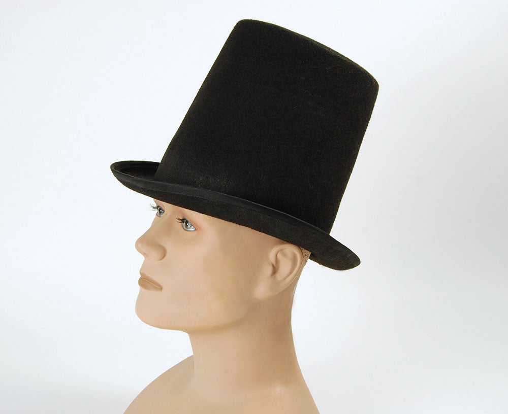 Top Hat - Black - Stovepipe