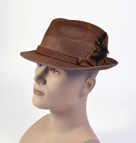 Oktoberfest Hat - Brown