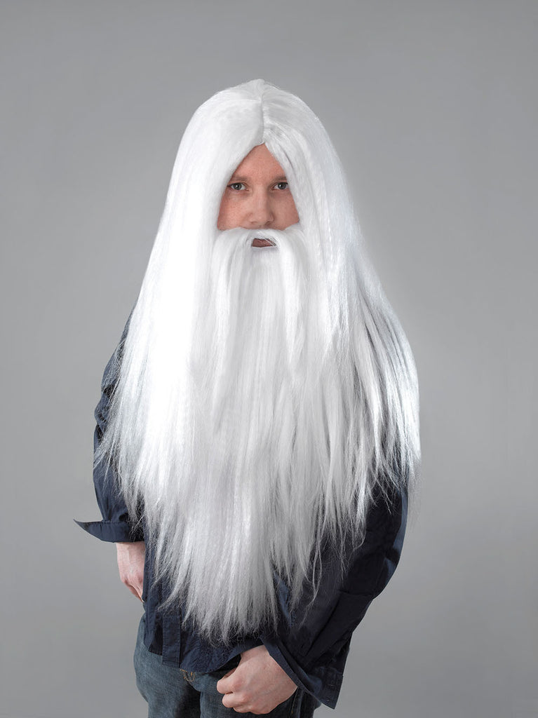 Wizard Wig & Beard Set