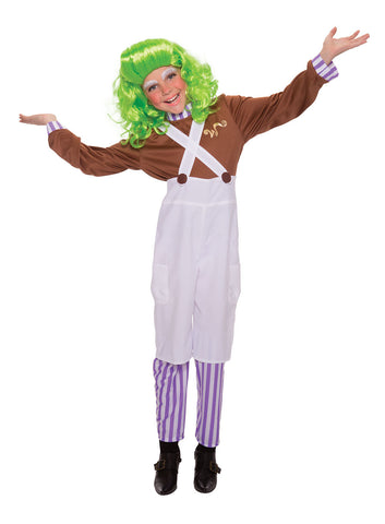 Chocolate Factory Worker Costume - Childs