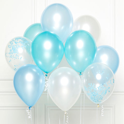 DIY Kit - Latex Balloons - Blue