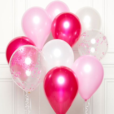 DIY Kit - Latex Balloons - Pink