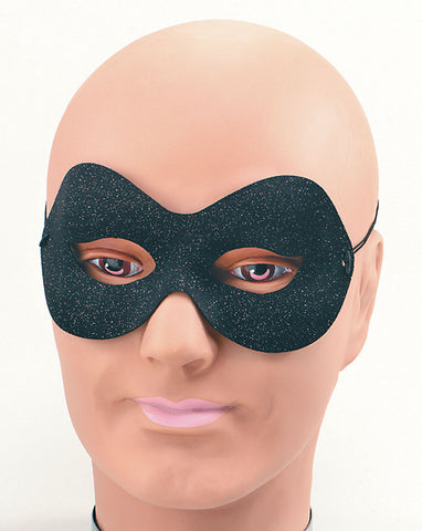 Domino Eyemask - Sparkle - Black