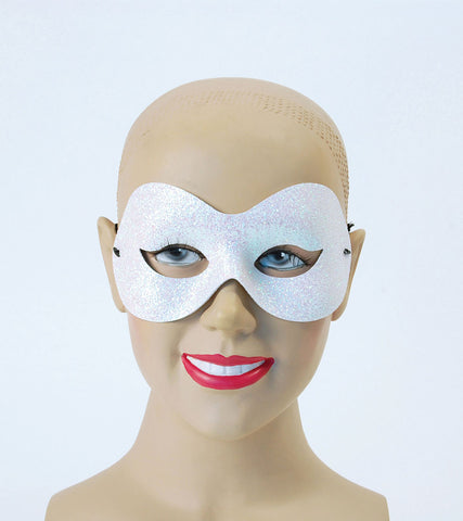 Domino Eyemask - Sparkle - White