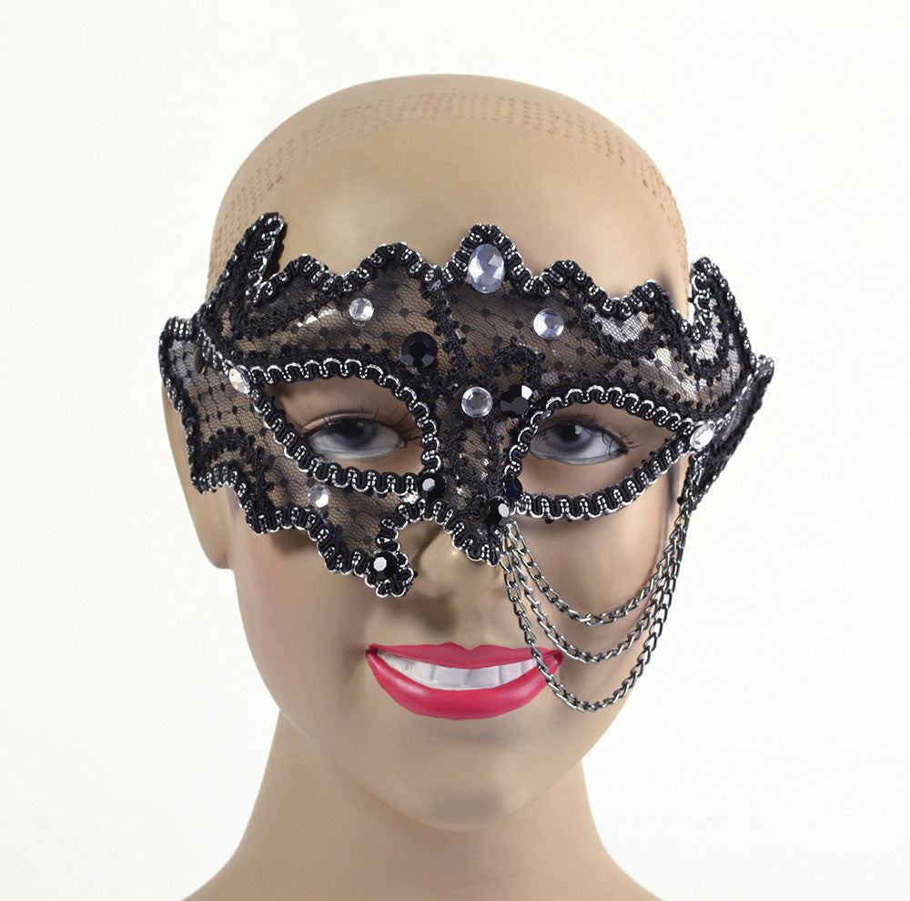 Eyemask - Decorative - Black