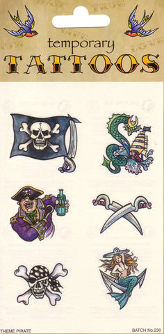 Tattoos - Pirate