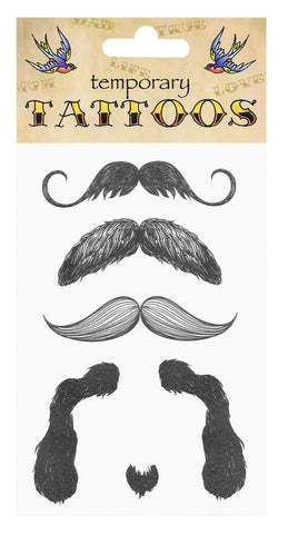 Tattoos - Moustache
