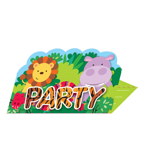 Jungle Friends - Invitations