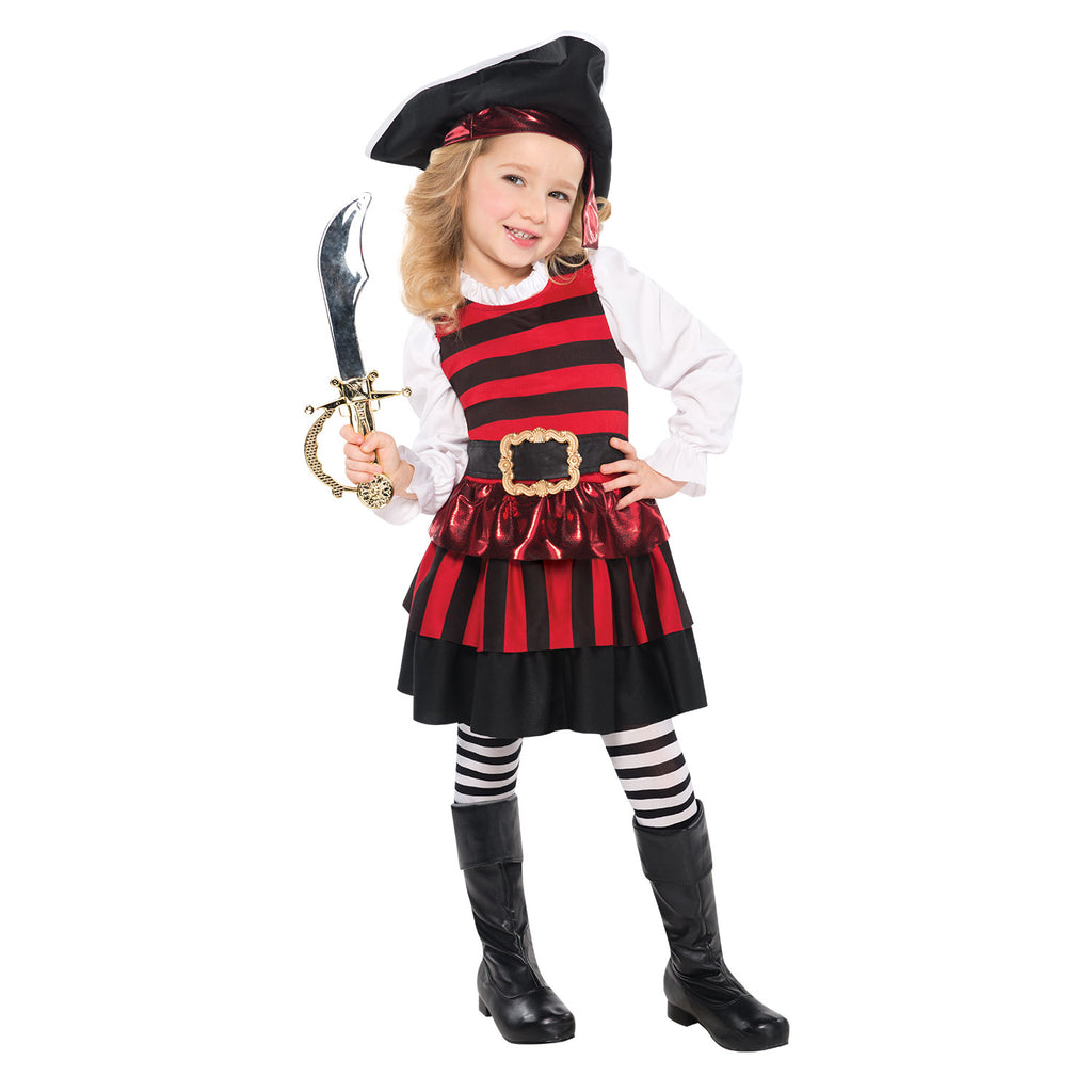 Pirate Girl Costume - Little Lass - Childs