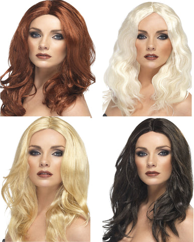 Superstar Wig - Auburn/Blonde/Dark Brown