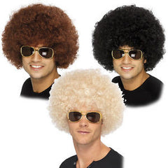 Afro Wig - Black/Brown/Blonde