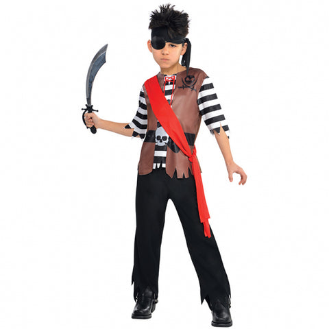 Pirate Ahoy Captain Costume - Childs