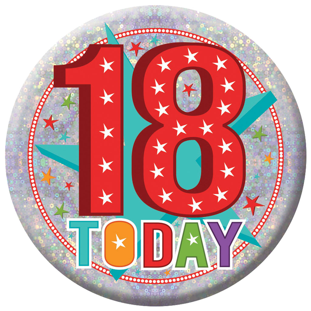 Badge - 18 Today