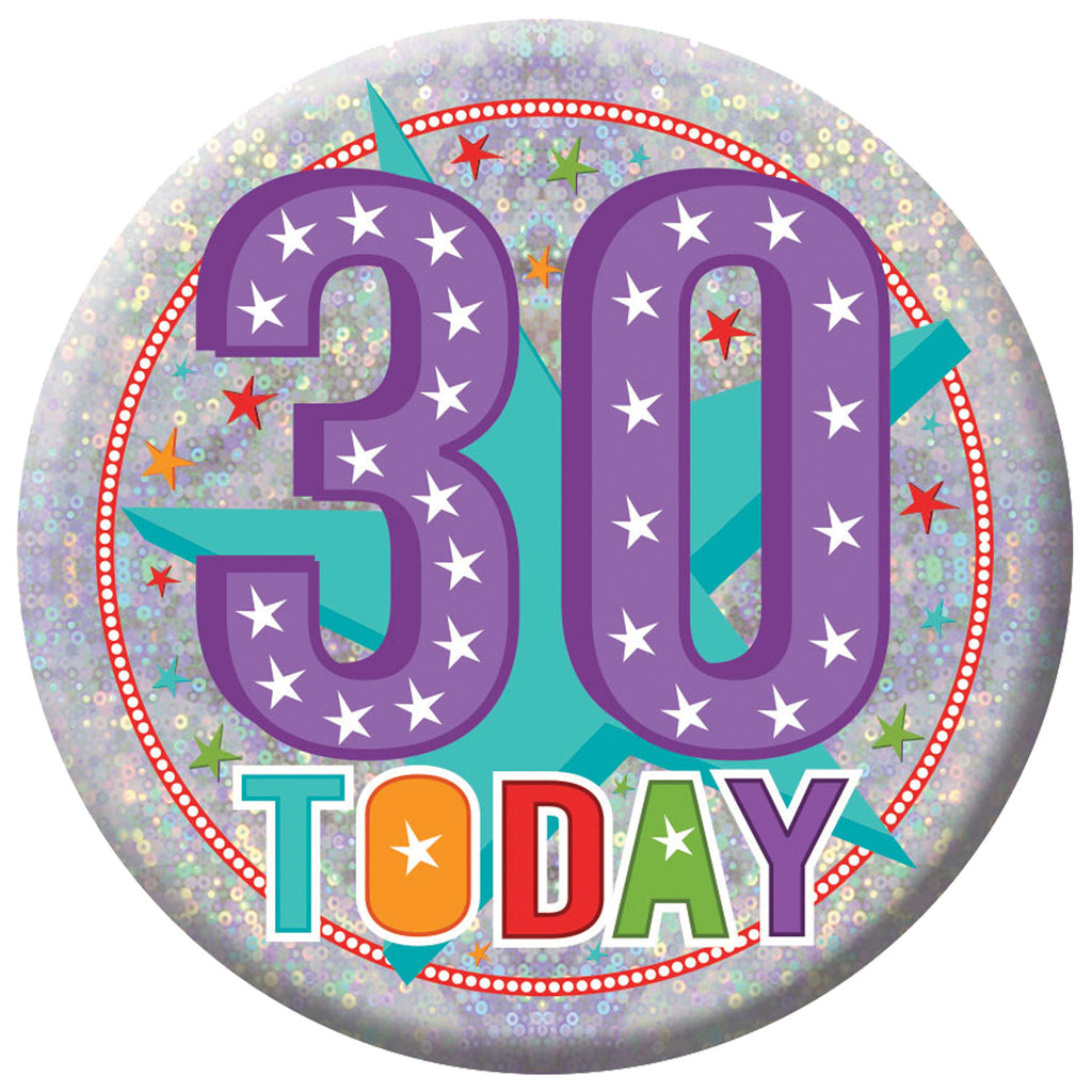 Badge - 30 Today