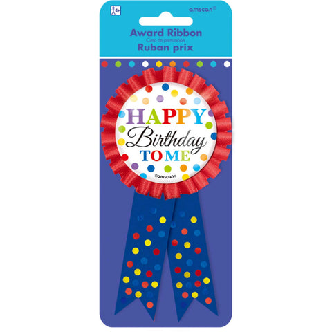 Award Ribbon - Happy Birthday To Me