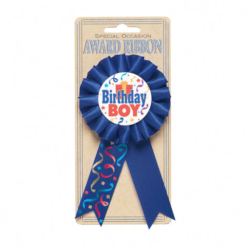 Award Ribbon - Birthday Boy
