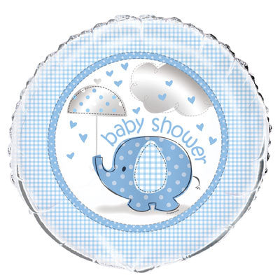 "Foil Balloon - 18"" - Baby Shower - Blue"
