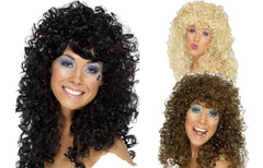 Boogie Babe Wig - Black/Brown/Blonde