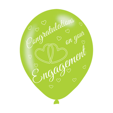 Latex Balloons - Engagement