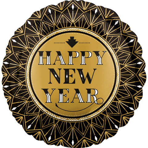 "Foil Balloon - 17"" - Happy New Year"