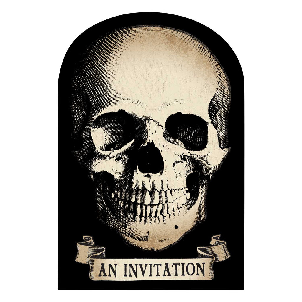 Boneyard - Invitations