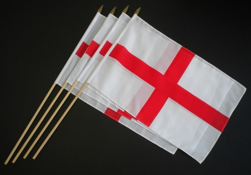Flag - St George (England) - Hand Waving Large