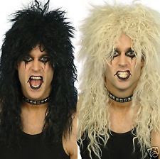 Hard Rocker Wig - Black/Blonde